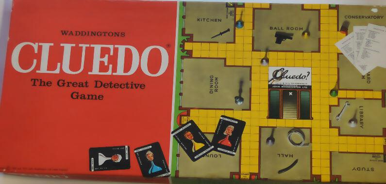 Cluedo - my favourite board game